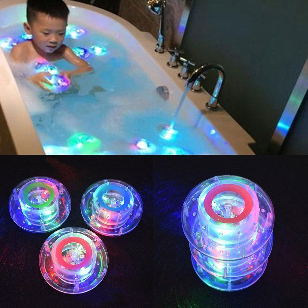 Pop party in the tub toy bath water led light kids waterproof ...