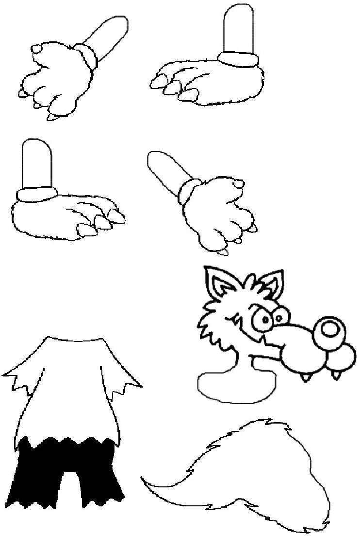 Les Trois Petits Cochons Gs : trois, petits, cochons, MATERNELLE, Petit, Partage, Loup,, Pierre, Chaperon, Rouge