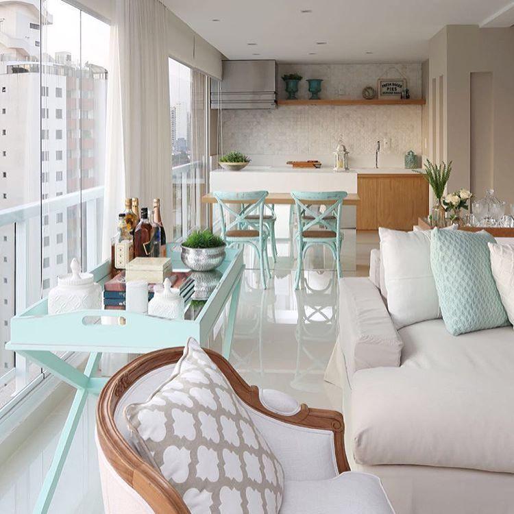 """Eu Te Inspiro  Arquitetura No Instagram """"Terraço Integrado Por Simple No Furniture Living Room Inspiration Design"""