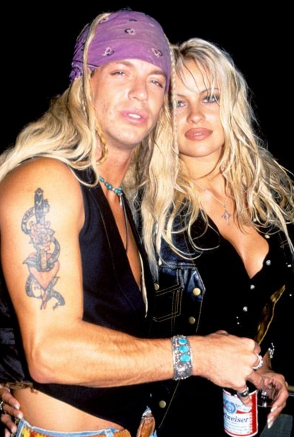 Is Bret Michaels Married Pretty bret michaels & pamela anderson | young pamela anderson