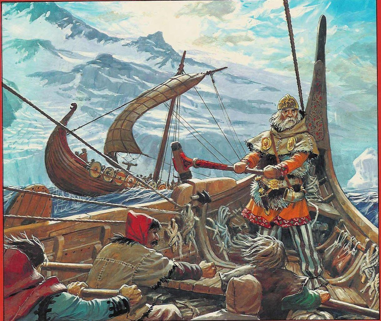 Racing around Iceland. | Viking warrior, Viking ship, Vikings
