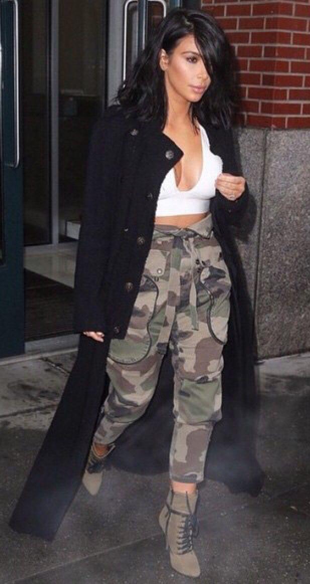 7eb5102b8c Cargo pants | *Forever~Stylish* | Kardashian style, Fashion, Kardashian