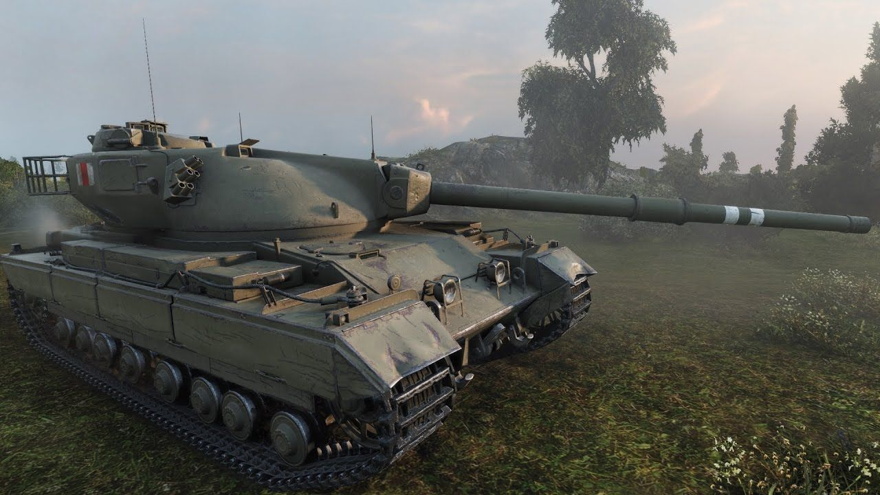 WoT Conqueror | 6 907 DMG | 1 819 EXP - Mines | World of Tanks