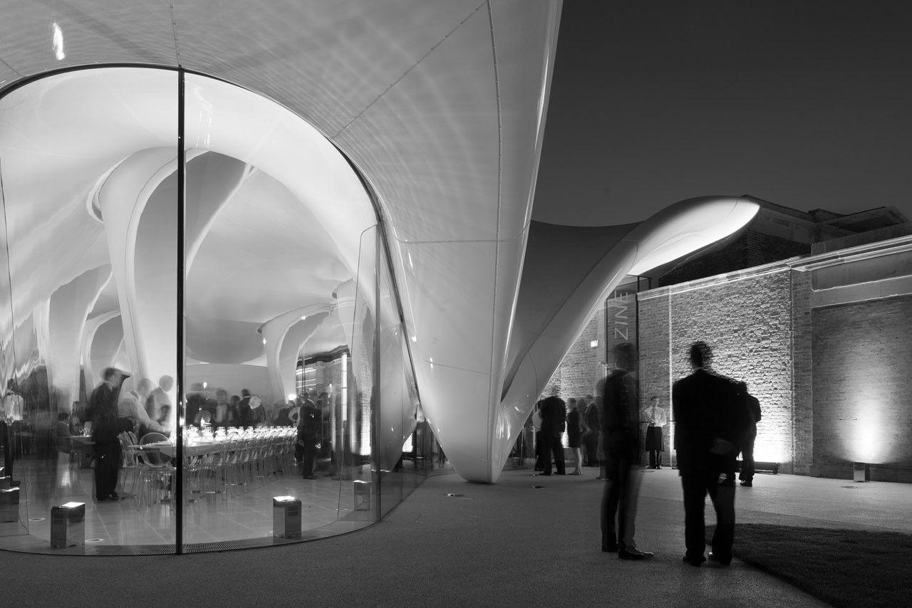 Zaha Hadid Architects, Serpentine Sackler Gallery. Photo © 2013 Luke ...