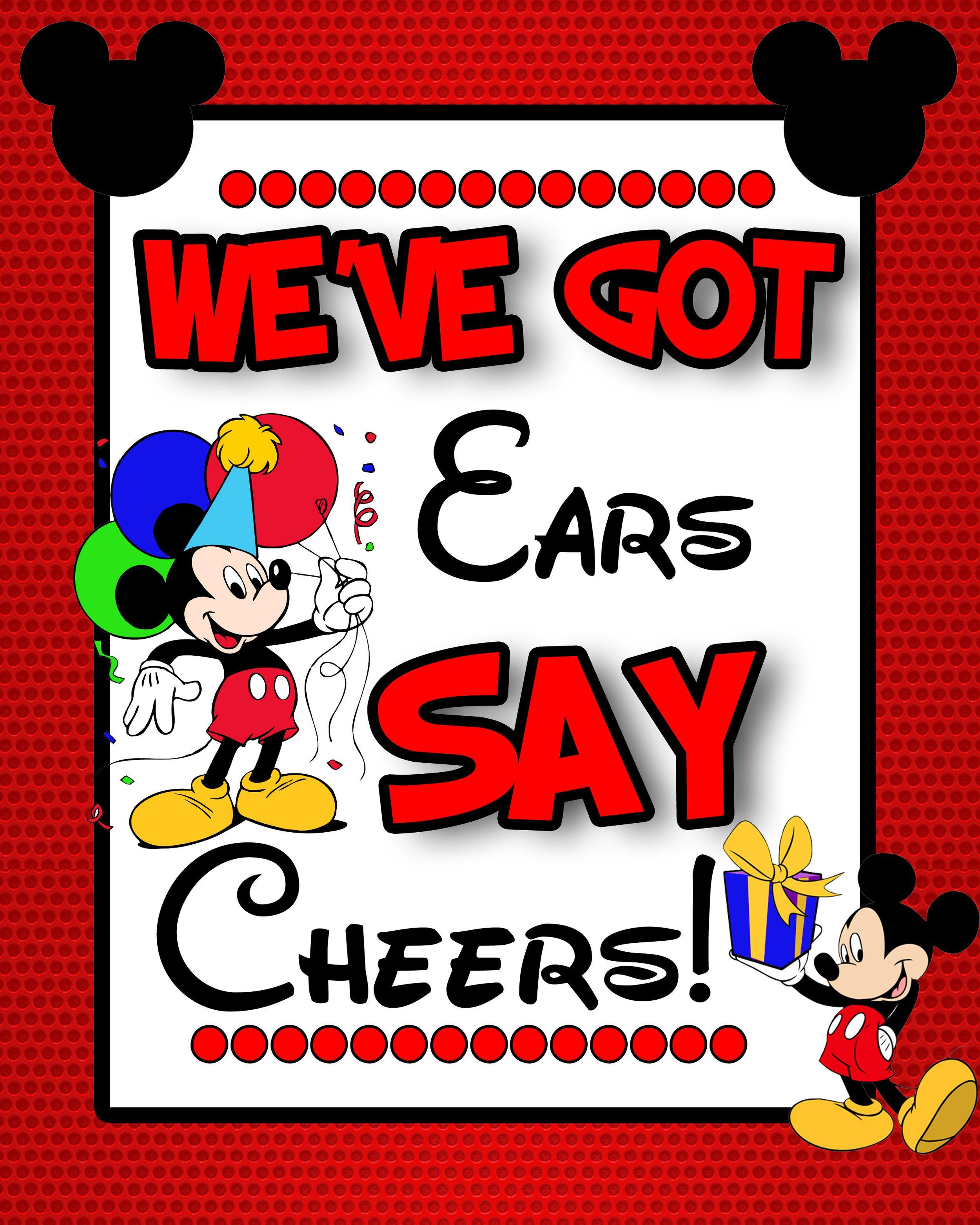 We\u2019ve got ears say cheers!