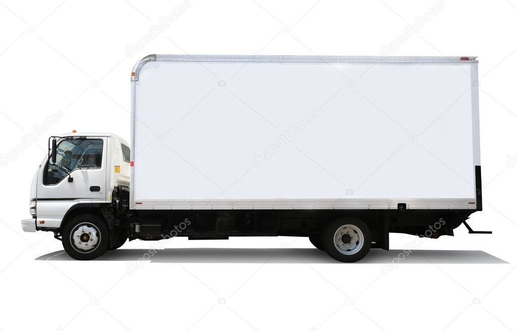 White Delivery Truck Stock Photo Sponsored Delivery White