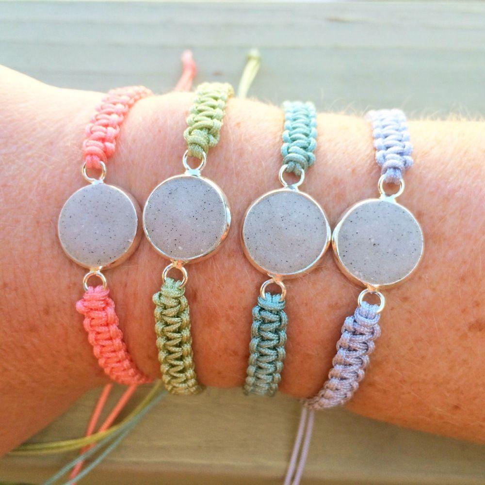 Tropicality Macrame Beach Sand Bracelet