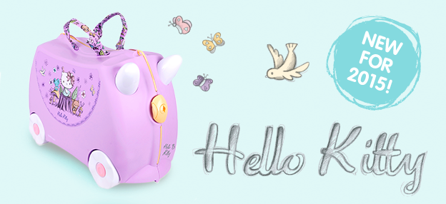 Trunki has made a new Hello Kitty Trunki... It goes without saying that H already has a Trunki and therefore D needs one too