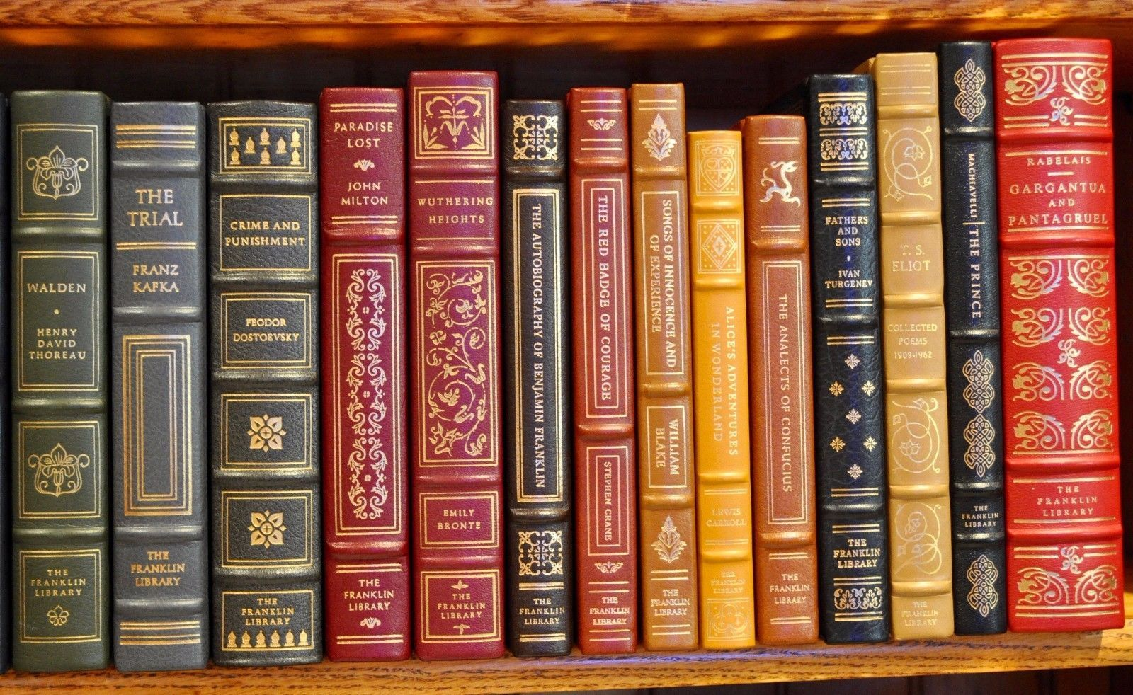 Franklin Library 100 Greatest Books Of All Time Complete Set Fine Very Fine Ebay Classic Books Great Books Books