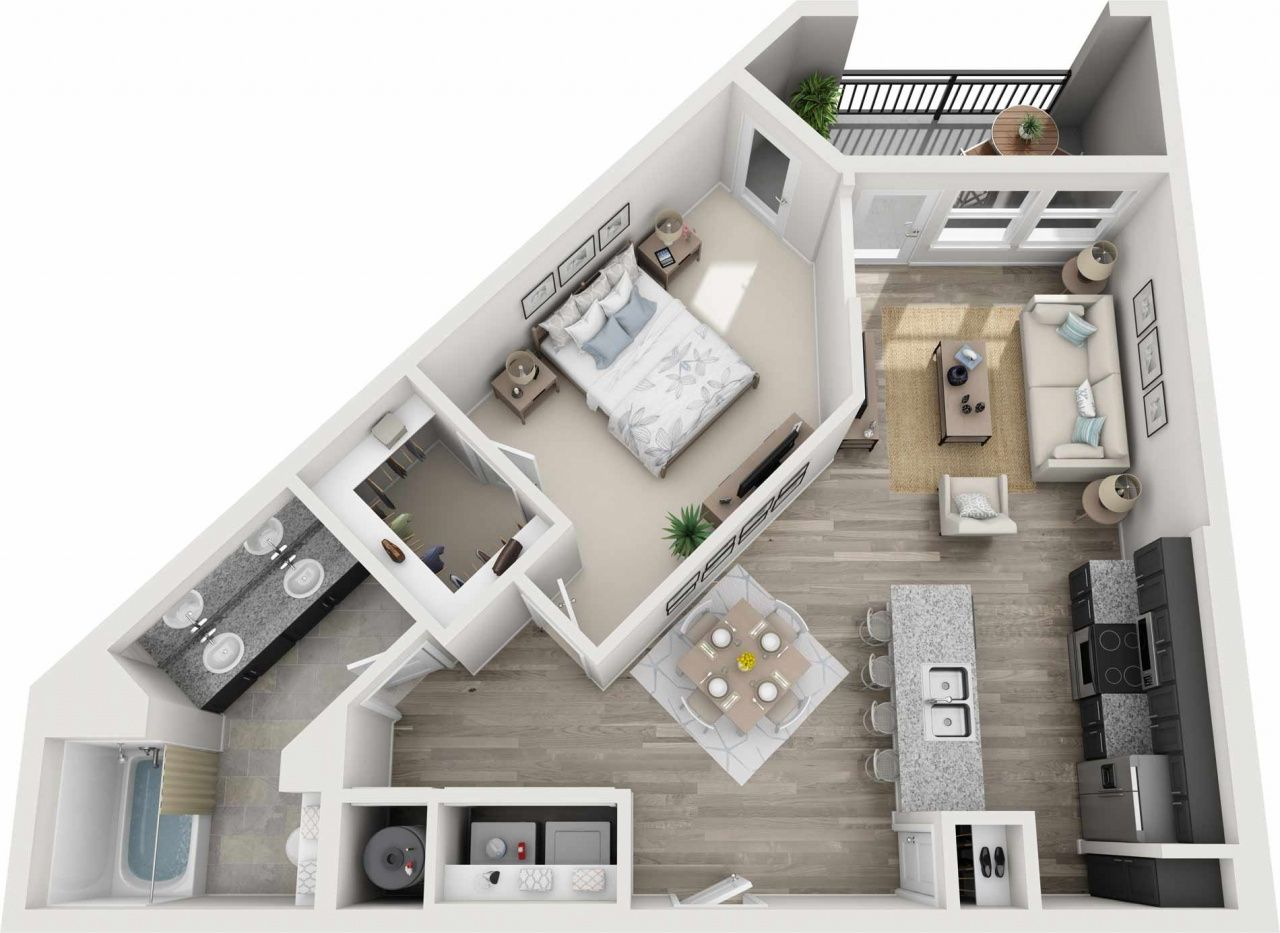 Cheap One Bedroom Apartments In Nashville Tn in 2020
