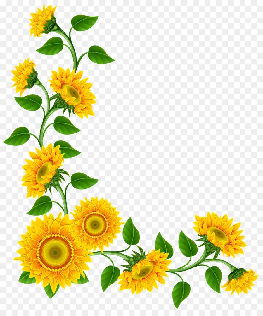 Desktop Wallpaper Clip Art Bunga Matahari Sudut Png Unlimited Download Kisspng Com Bunga Bunga Matahari Art
