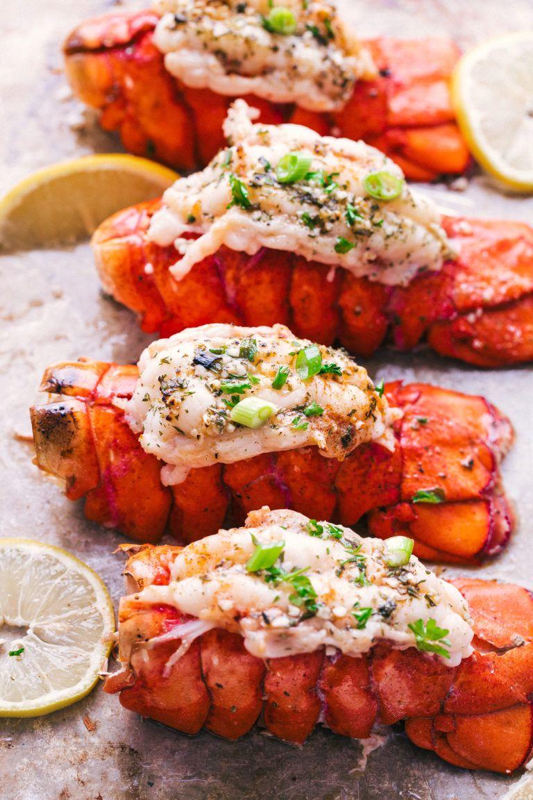 Garlic Butter Lobster Tails Recipe Lobster recipes