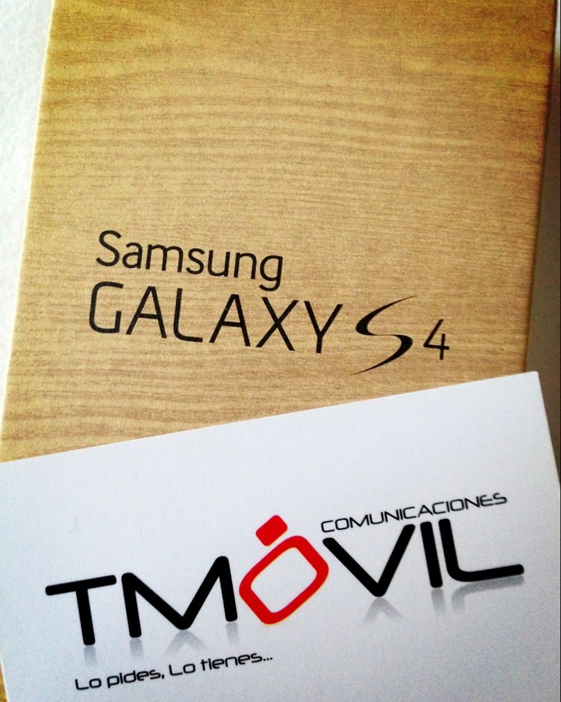 #GalaxyS4 it's here