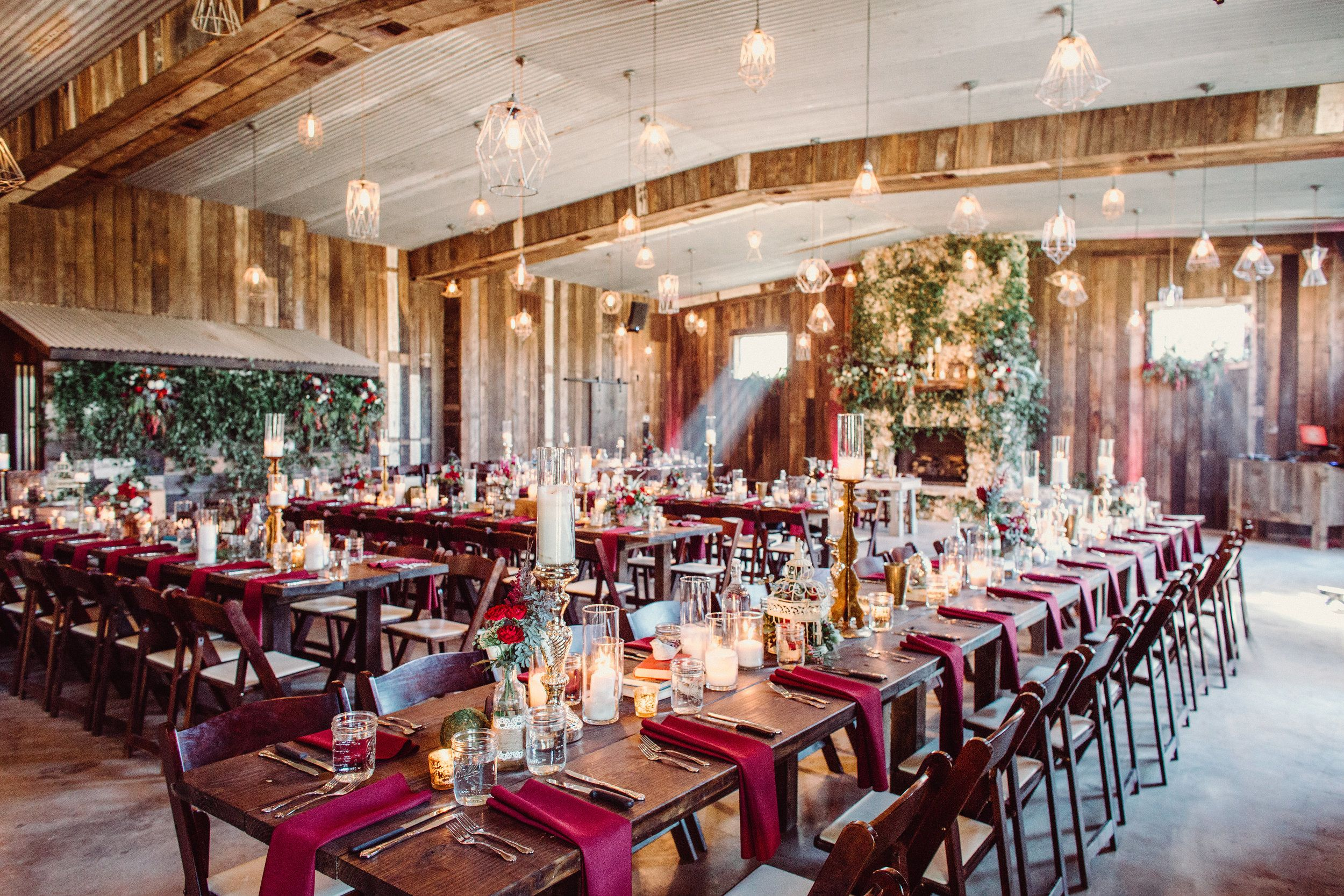 No plates Hill country wedding venues, Hill country