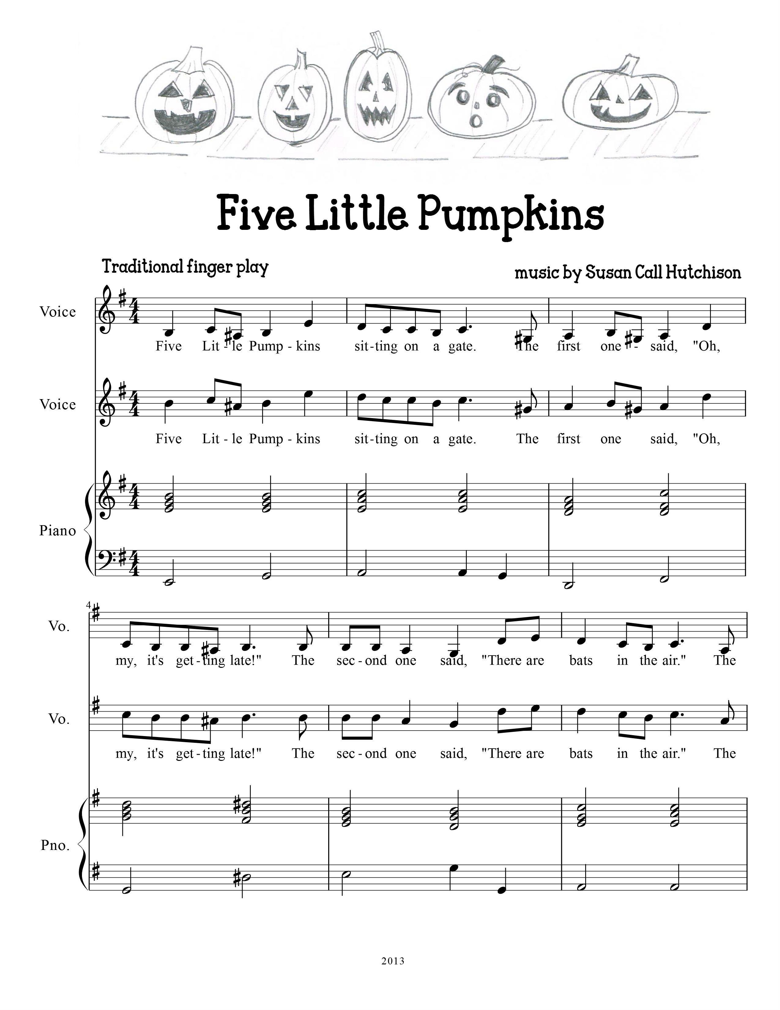 free halloween sheet music piano - Google Search   I love ...