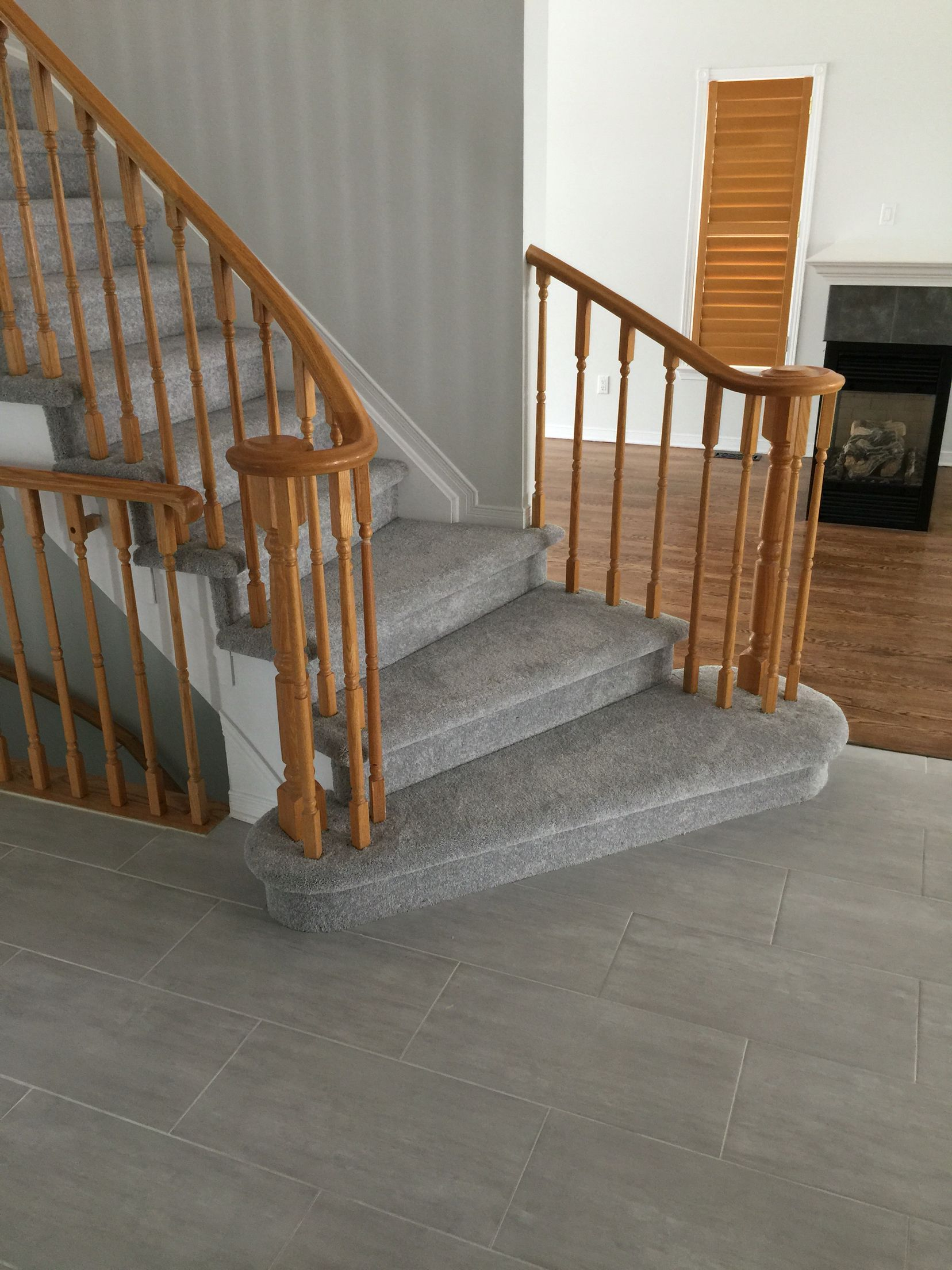 Best Grey Carpet On Open Stairs Open Stairs Stairs Stairways 400 x 300