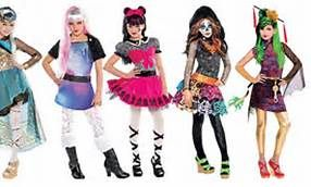 monster high halloween costume DIY  sc 1 st  Pinterest & monster high halloween costume DIY | Fall and Halloween | Pinterest ...