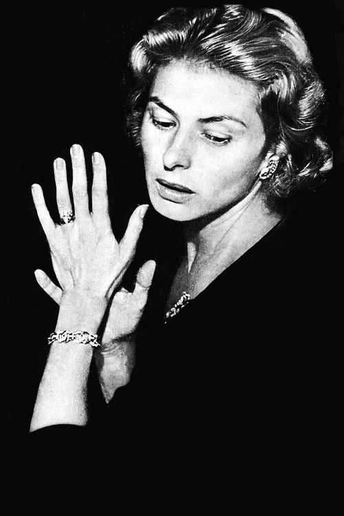 """""""I did not always get life right. I lacked the wisdom. I think one needs two lives to get it right. But I have no regrets. And I wouldn't give back any of the years of my life to be a year younger."""" Ingrid Bergman"""
