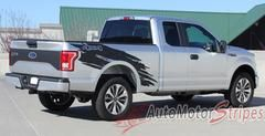 2009 2014 Ford F 150 Predator 2 Factory Raptor Style Bed Vinyl Decal Graphic 3m Stripes Ford Trucks Truck Accessories Ford Ford F150