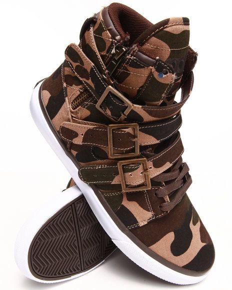 Radii Footwear - Straight Jacket VLC Sneakers - Camo Print - #Streetwear