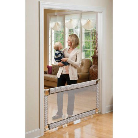 Evenflo Soft And Wide 38 60 Pressure Mounted Baby Gate Walmart