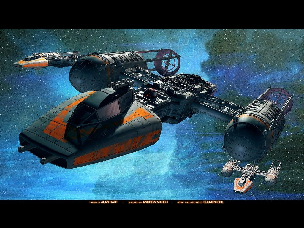 Star Wars Wallpaper Y Wing