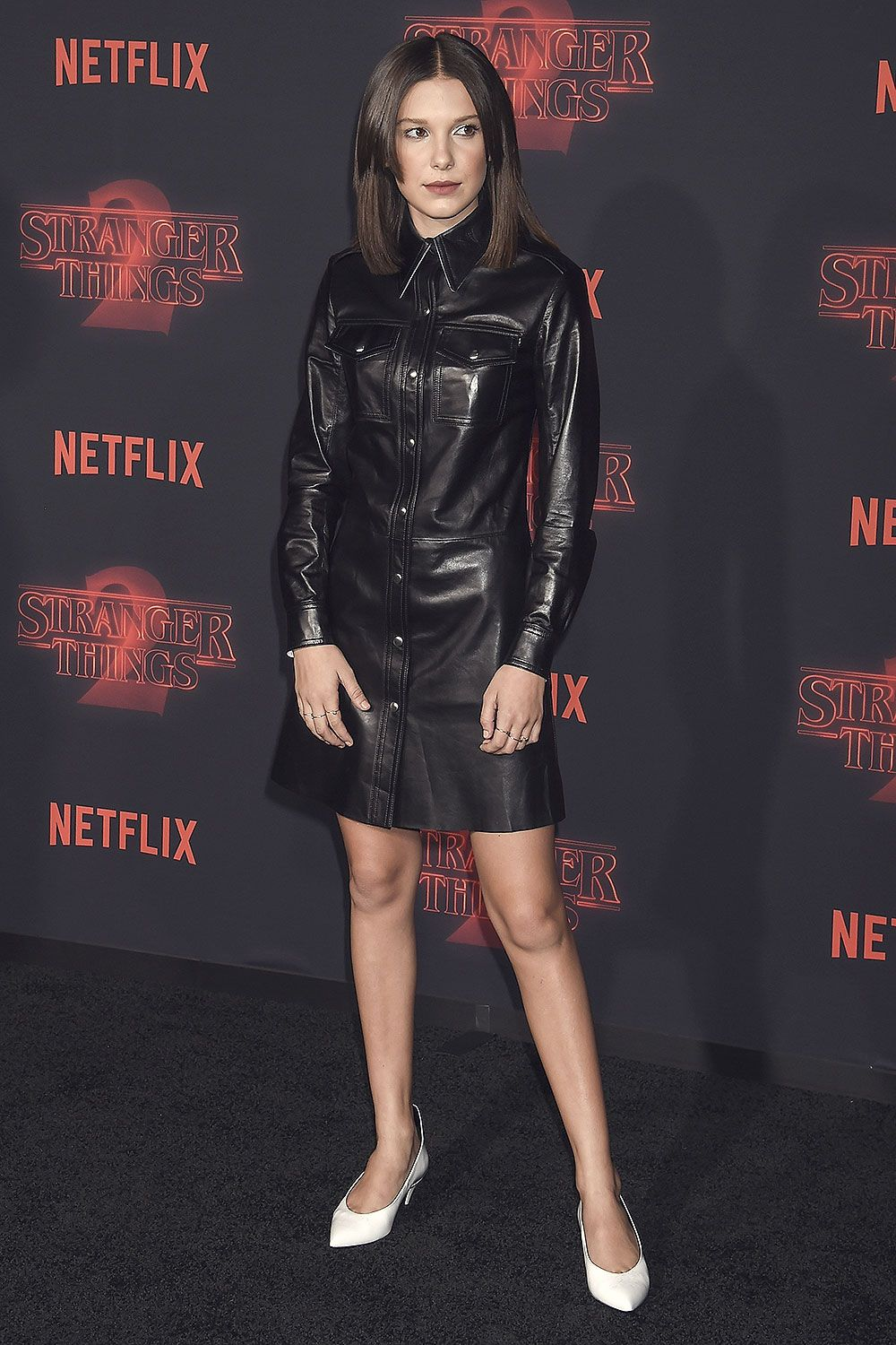 05849167789 Millie Bobby Brown attends the Stranger Things 2 premiere ...