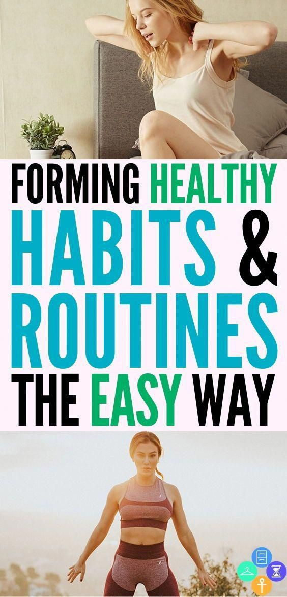 Forming healthy habits and routines the easy way. Don't bet yourself up when you miss a gym workout....