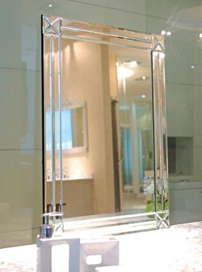 Art Deco Style Mirror Modesty 800 X 1000mm