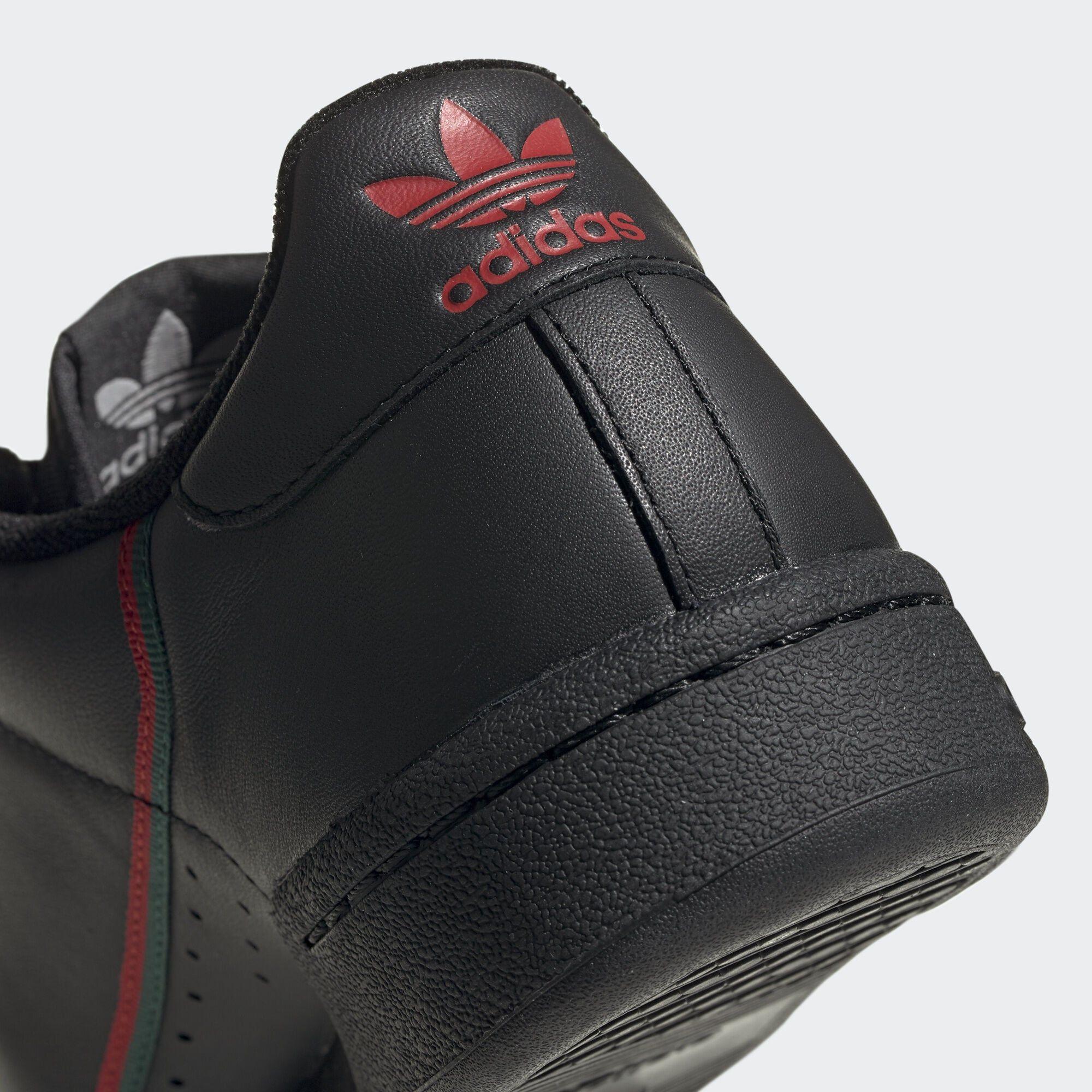ADIDAS ORIGINALS Sneaker 'Continental 80' Herren, Grün Rot