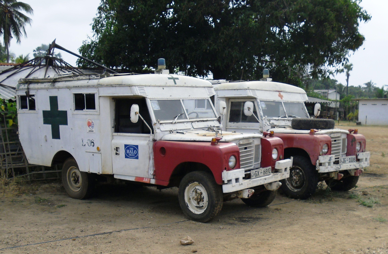 Uk Land Rover Ambulances Emergency Vehicles Rescue Vehicles