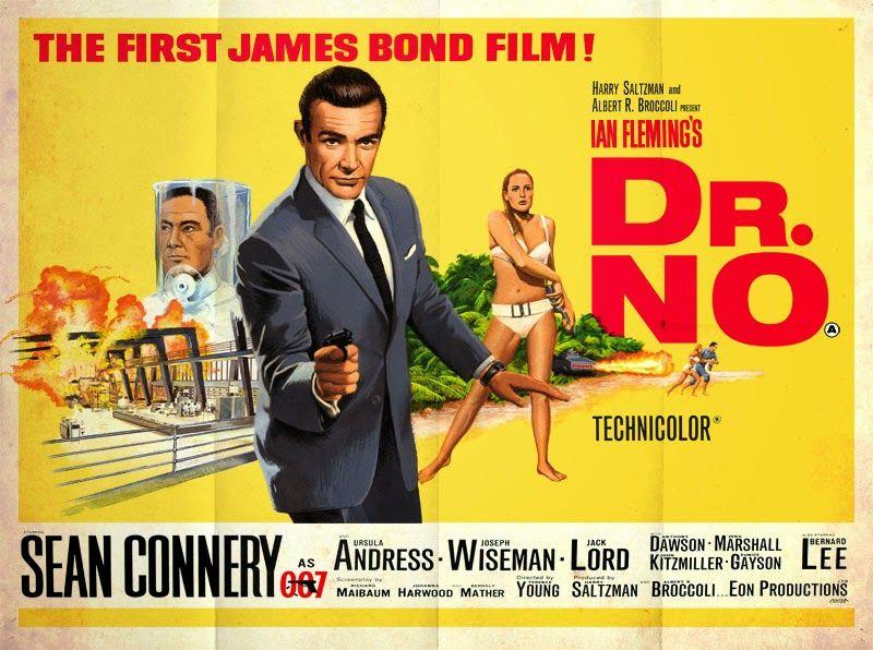 Dr No Tribute Artwork | Bond, James bond, Bond films