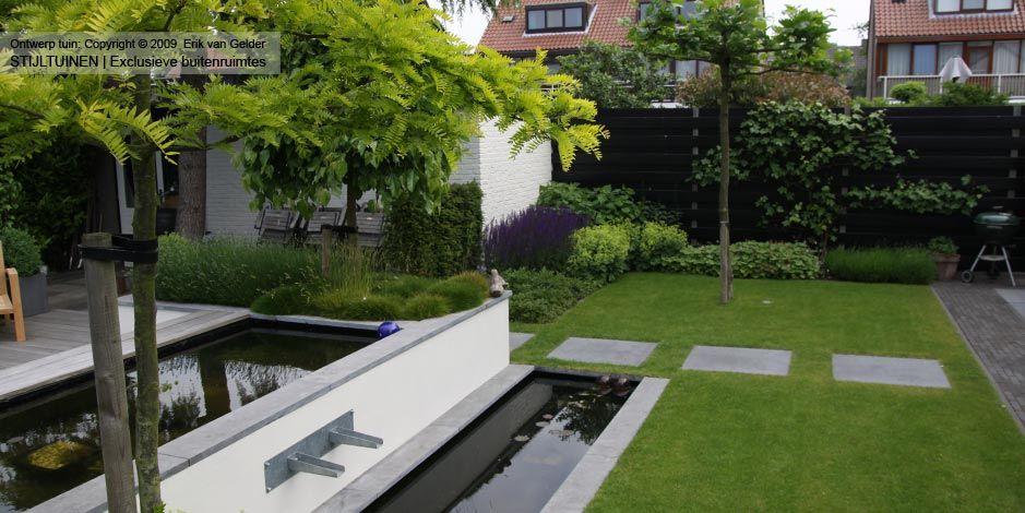 Design tuin tuinen mooie strakke 11 hoveniersbedrijf van gelder tuinen ridderkerk tuinen for Tuin modern design