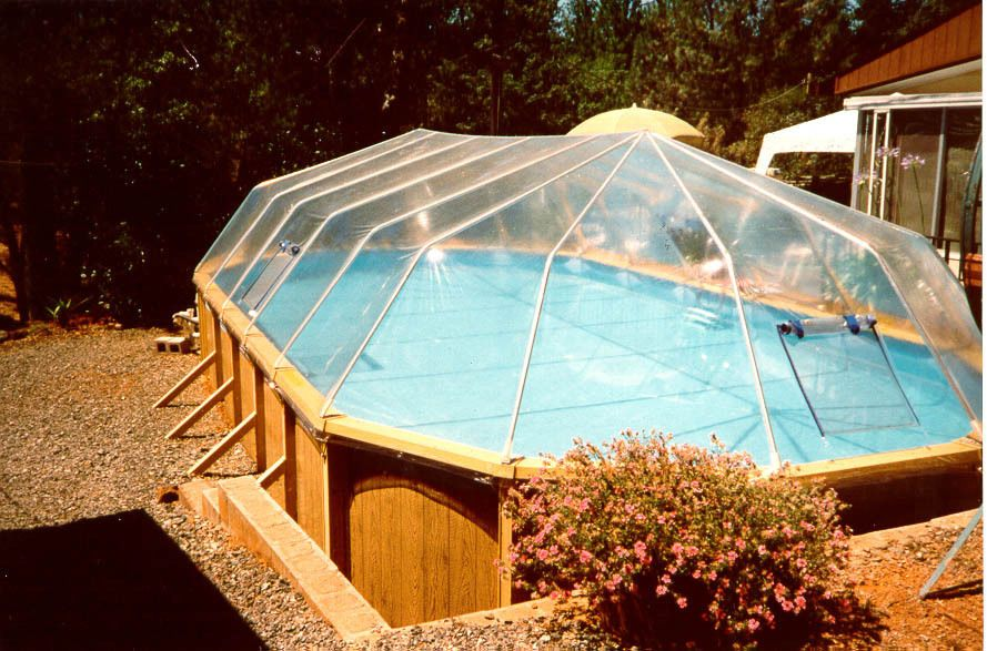 Oval Above Ground Swimming Pool Solar Sun Dome Cover Heater Panel Sundome