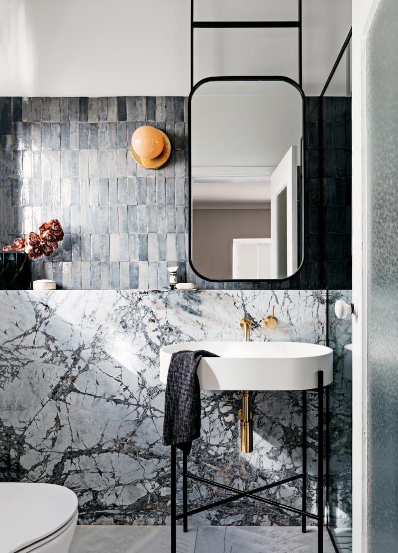 Badezimmer design gold australiens interiordesigner zeigen ihre bäder  badezimmer