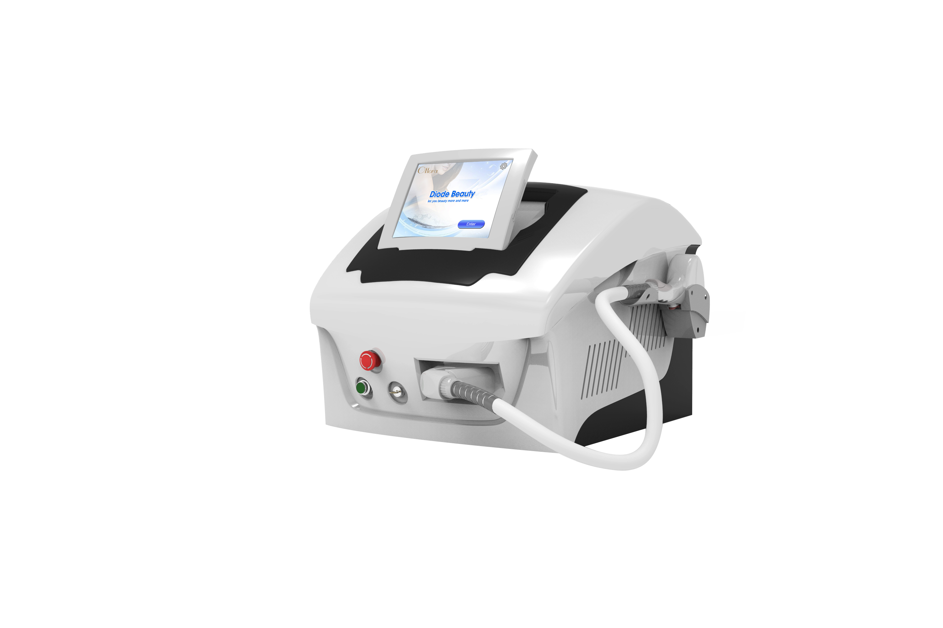 High Power Desktop 808nm Diode Laser Hair Removal Machine With Germany Laser Rod Cosmetic Dentistry Cost Cosmetic