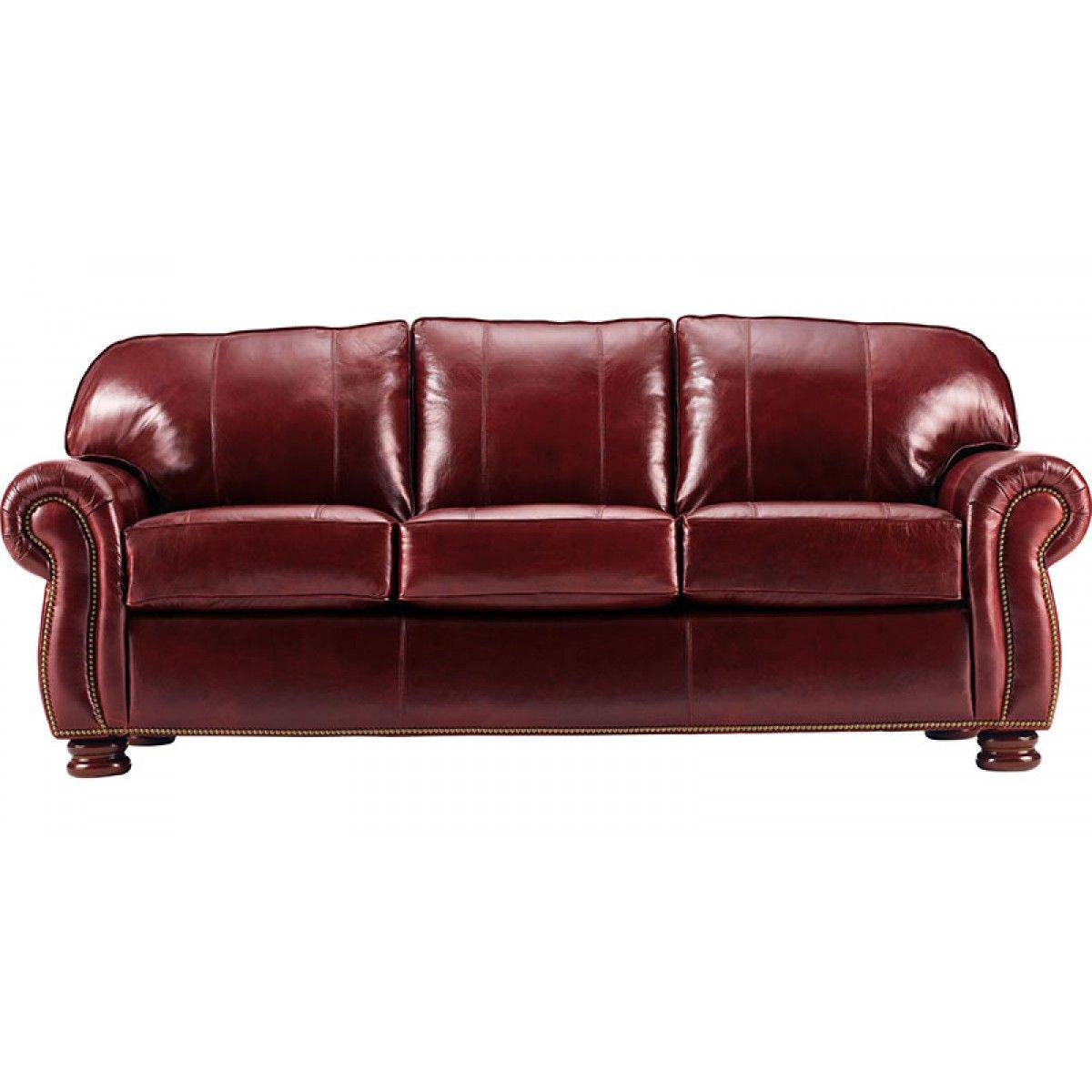 thomasville benjamin leather sofa with chaise lounge for sale furniture gradschoolfairs