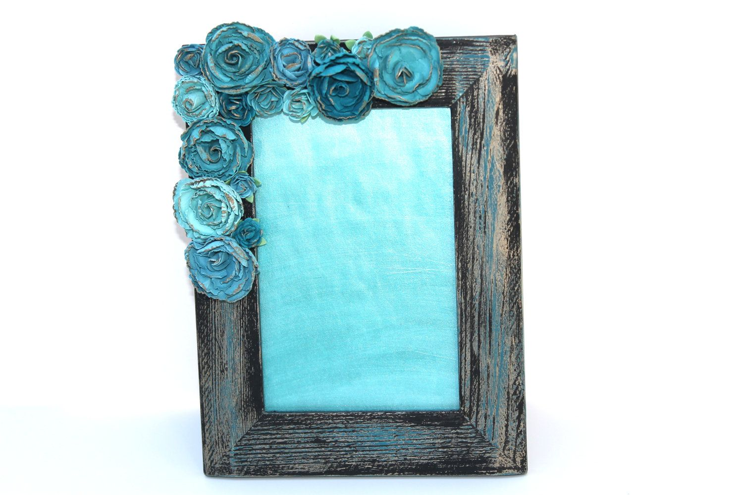 4x6 Shabby Chic Embellished Picture Frame. $34.00, via Etsy. | LOVE ...