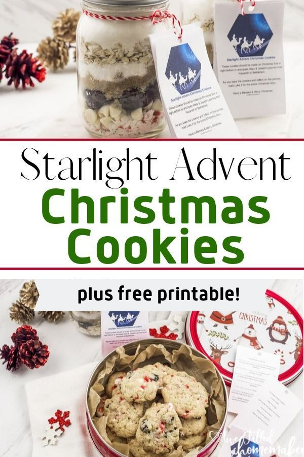 Advent These Starlight Advent Christmas Cookies are perfect for the Advent  the Christmas Holiday This unique way to arrive at Jesus birth for the Advent and Christmas se...