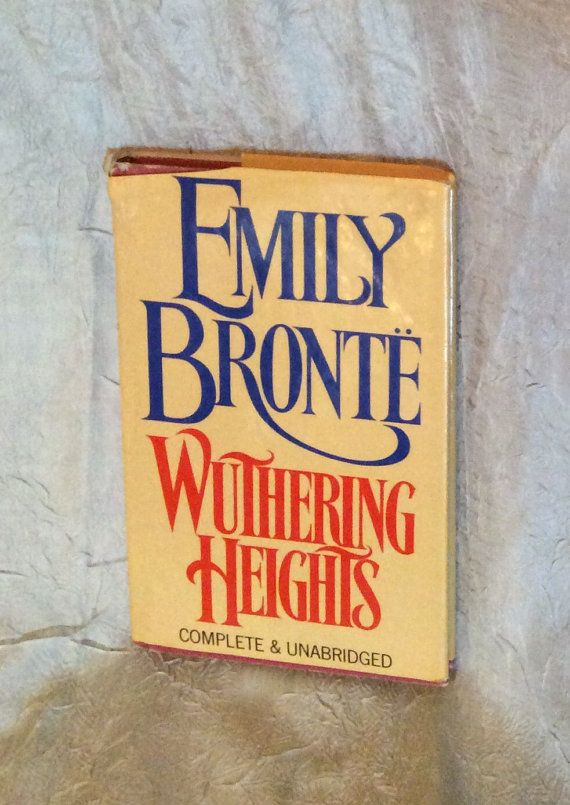Wuthering Heights Emily Bronte Complete & by ALABAMANANA on Etsy