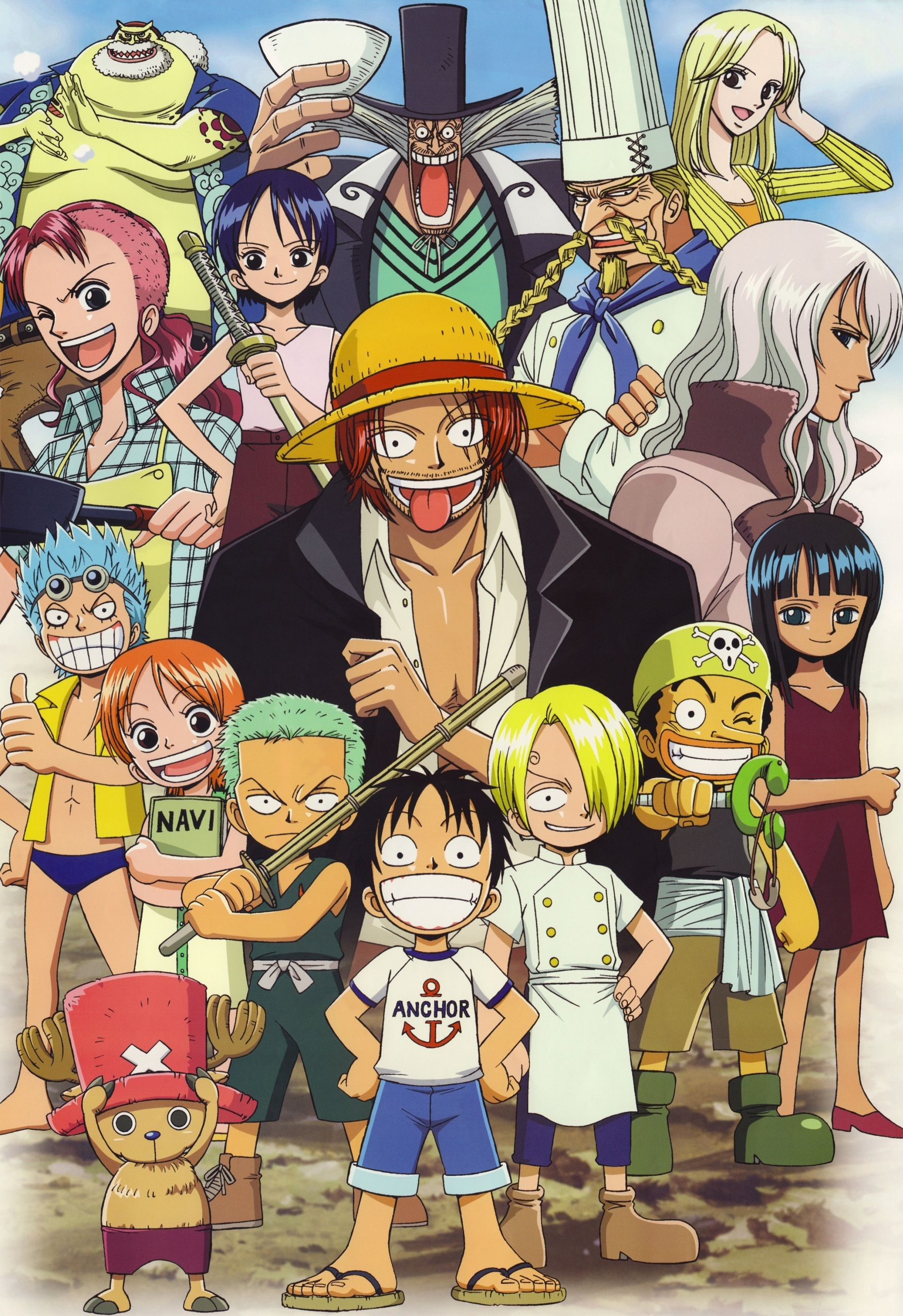 Equipage Enfants One Piece Anime Personagens De Anime Mangá One Piece