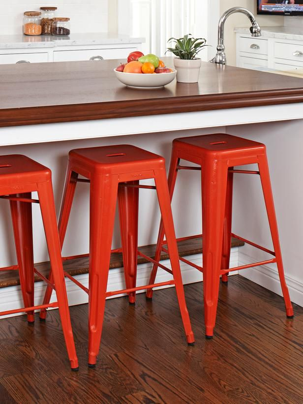 9 Simple Kitchen Upgrades Kitchen Island Foot Rest Simple Kitchen Kitchen Design Small Space