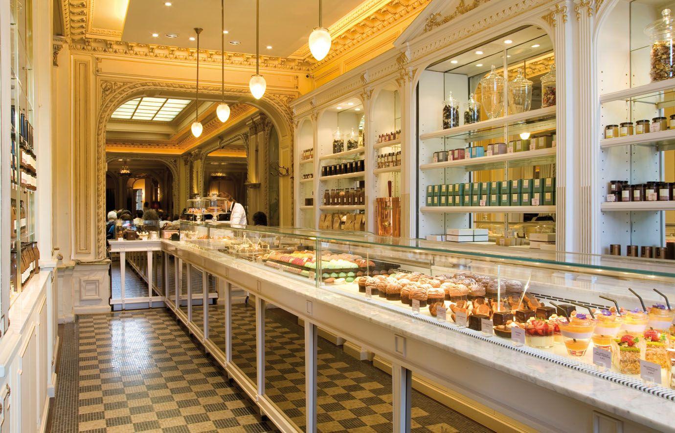 Angelina tea room we just love this iconic salon de th set rue de rivoli their signature - Salon de the rue de rivoli ...