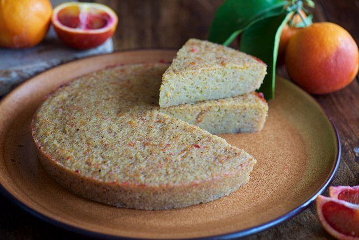Cake Orange Vapeur Thermomix