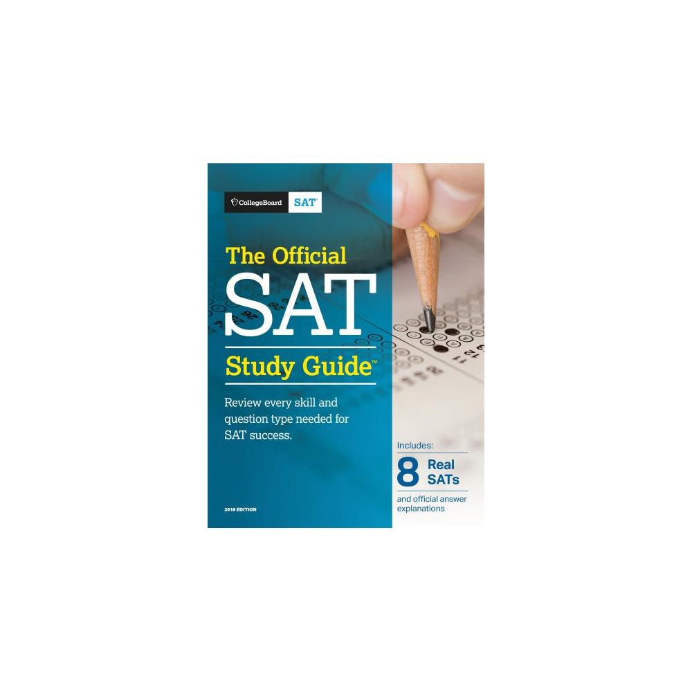 Official Sat Study Guide 2018 (Paperback) Sat study