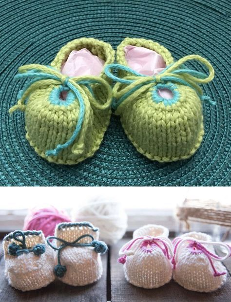 910993afd81c Baby Bootie Knitting Patterns