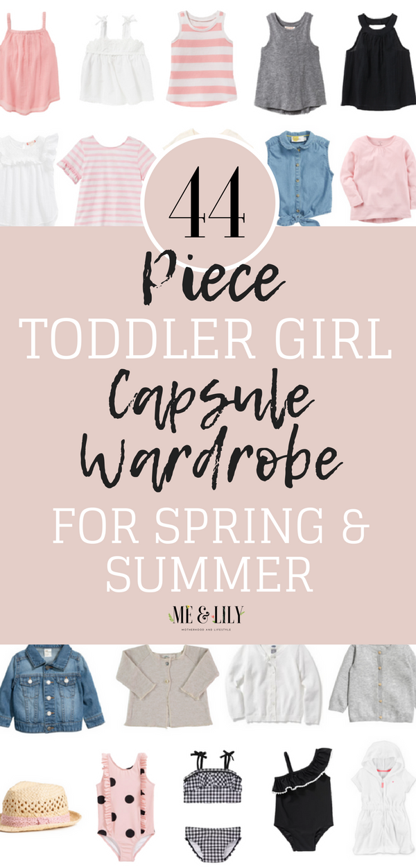 cd91bac43fdc Toddler Girl Capsule Wardrobe  Spring and Summer! Use this toddler ...