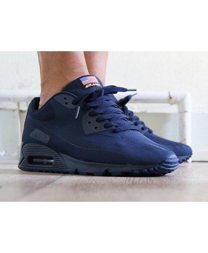 Nike Air Max 90 Hyperfuse Independence Royal Blue Trainer Now many young  people like this product, very tempting, work is also very sophisticated.