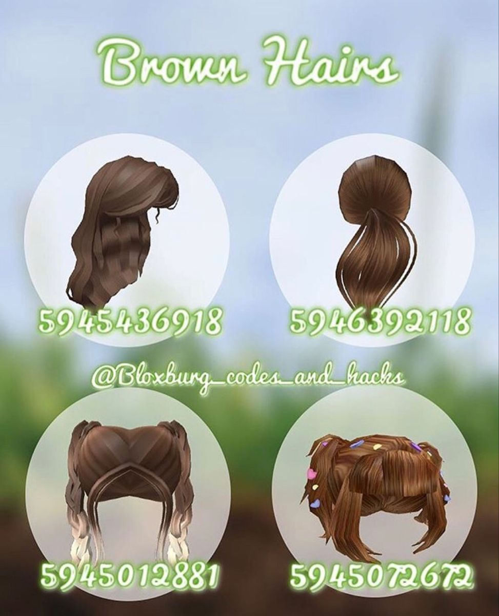 Brown Hairs Not Mine 3 In 2020 Roblox Codes Roblox Roblox Roblox Pictures