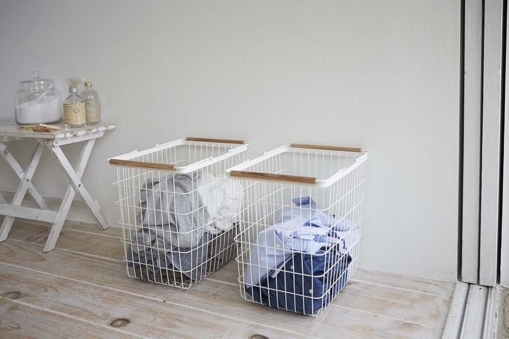 Yamazaki Home Official Site Laundry Basket And Wagon Laundry